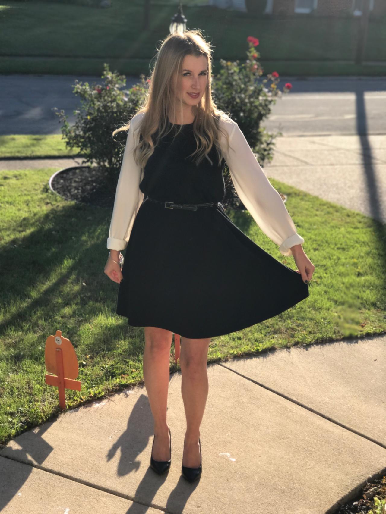 Classy Swing Dress