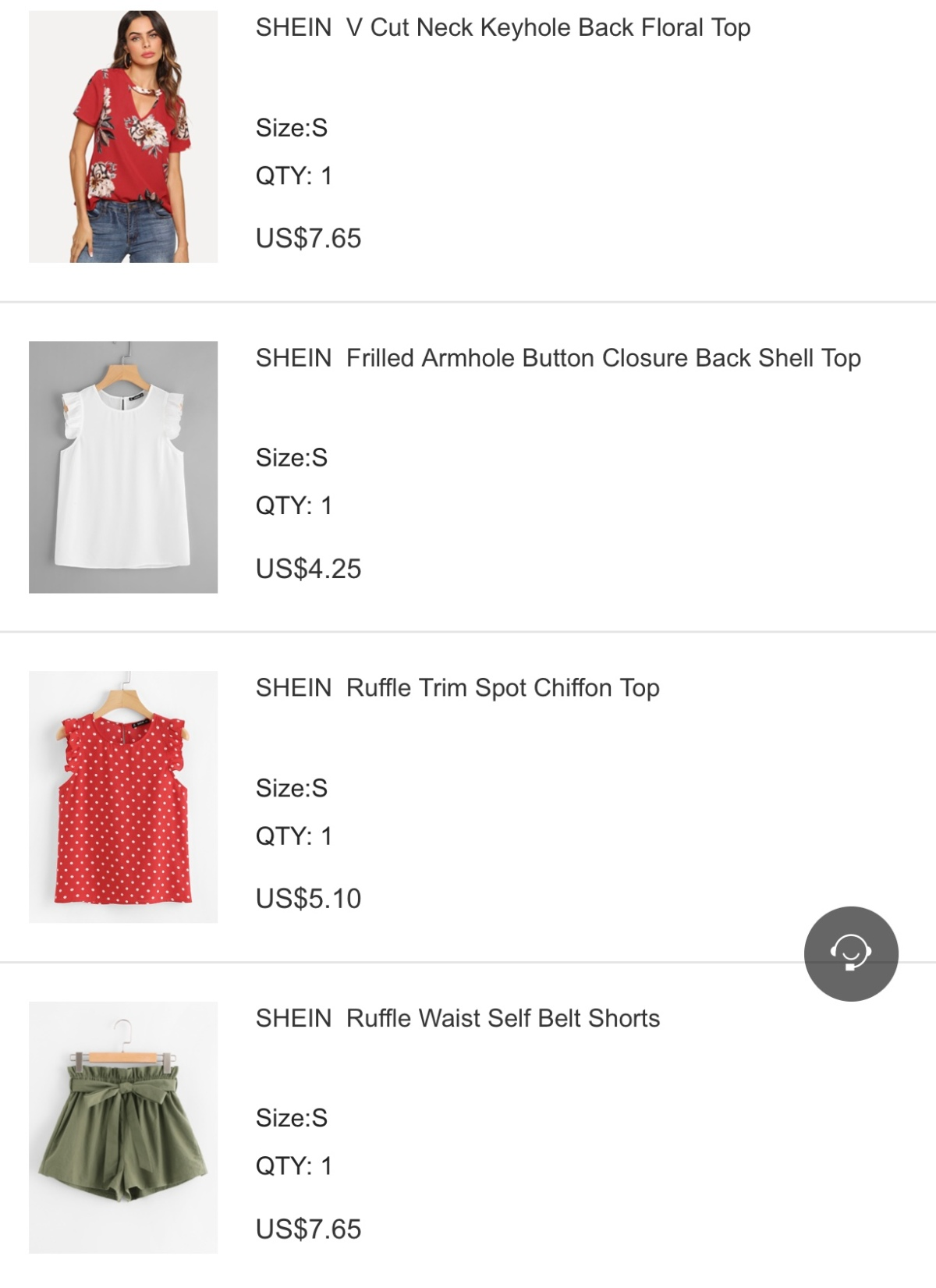 What's in my Cart, Shein.com Edition