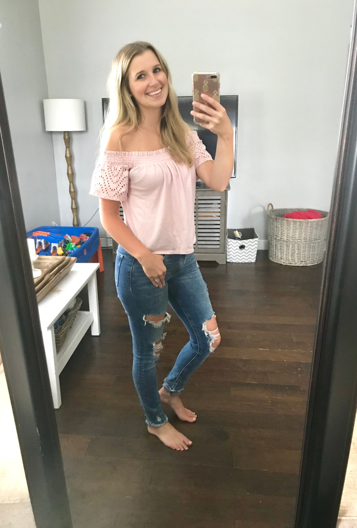 Shop | Off the Shoulder Top
